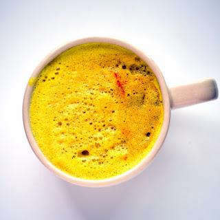 Vegan Spiced Golden Milk for Fall