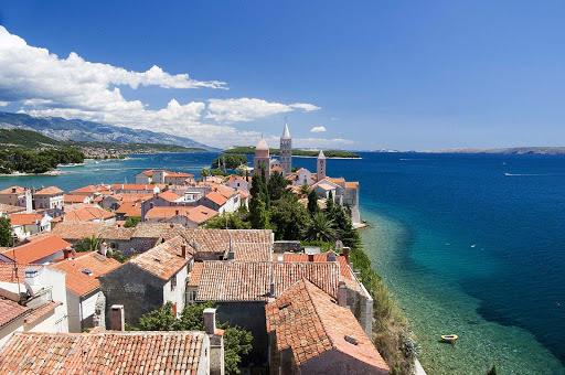 Rab, a charming island just off the northern Croatian coast in the Adriatic Sea.