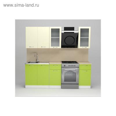 Кухонный гарнитур Елена стандарт, 1600 мм