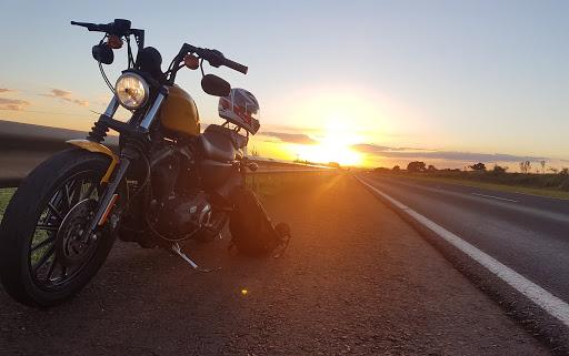 Harley moto voyage