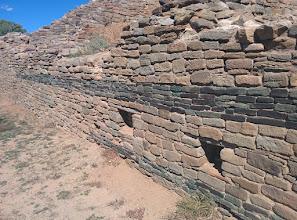 Photo: Unique to Aztec Nat'l Monument ruins