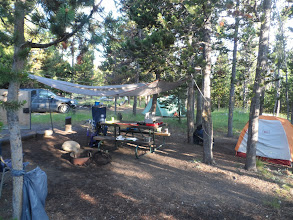 Photo: camp at Indian Creek campground