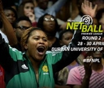 Round 2: Brutal Fruit Netball Premier League : Durban University Of Technology Steve Biko