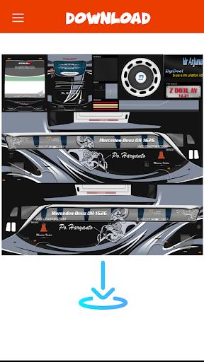 Livery Bussid PO Haryanto V2 1 screenshots 6