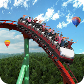 Amazing park roller coaster adventure games