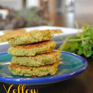 Yellow Split Pea Fritters.