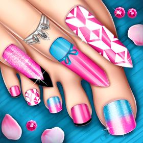 Игры маникюр и педикюр - Модные ногти
