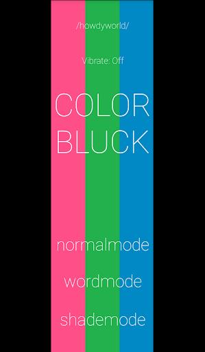 Color Bluck