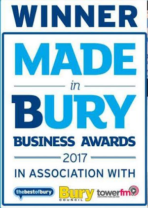 Made in Bury Business Award for Lilli Oliver Cake Award