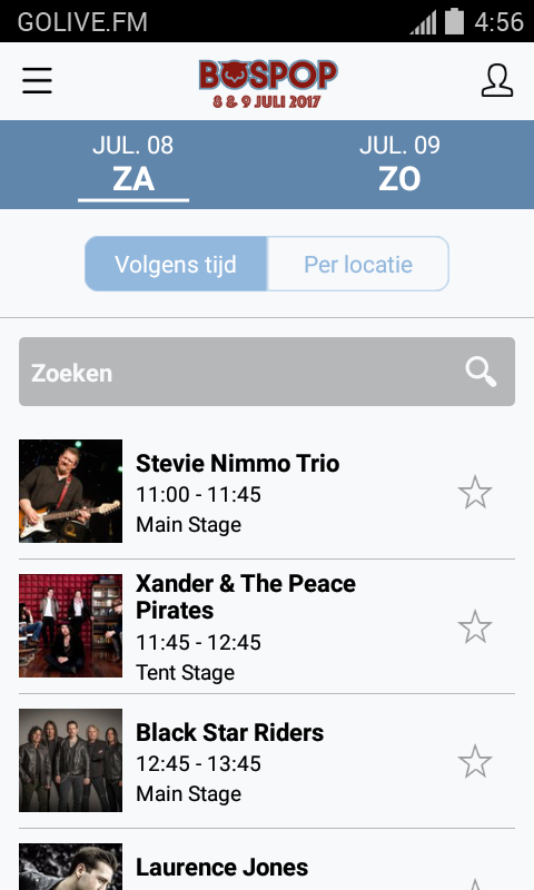 Bospop- screenshot
