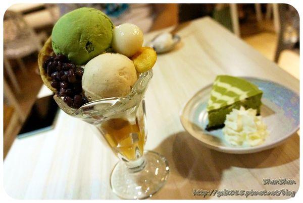 日式定食x抹茶甜點 - 必點划算大份量聖代「Machikaka」