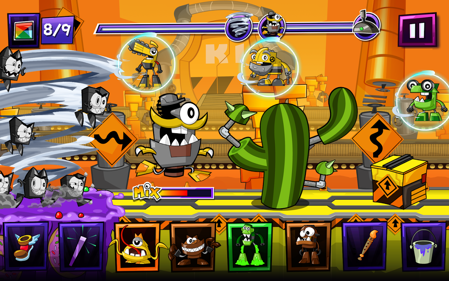 Mixels Rush- screenshot