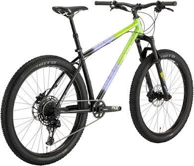 "All-City Electric Queen Bike - 27.5"", Steel, Blue/Lime Splatter alternate image 2"