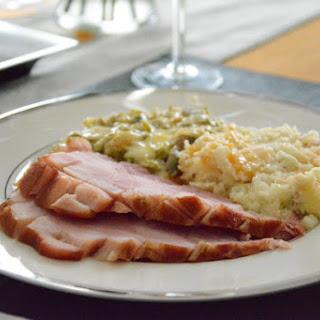 Low Carb Bourbon Glazed Ham.