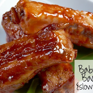 Baby Back Ribs {Slow Cooker Style}