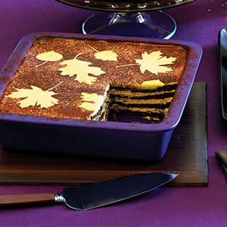 No-Cook Pumpkin Chocolate Icebox Cake