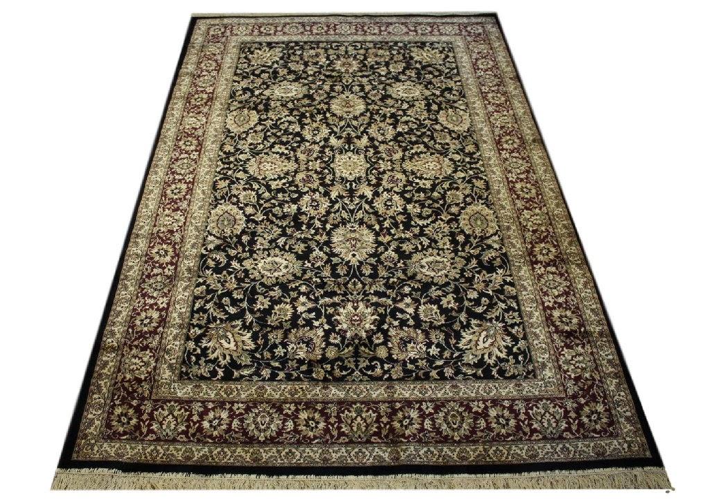 dywan wiskozowy kaschmir ok 2x3m perski wzór tanio