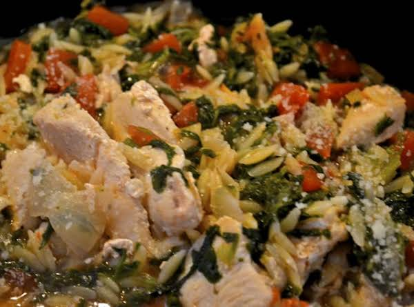 Asiago Chicken & Mushroom Skillet Recipe