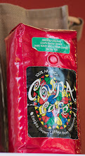 Photo: Looks like this bag of coffee took a pounding on its way from Venezuela...  #coffeethursday   +Coffee Thursdaycurated by +Jason Kowingand +Cheryl Cooper