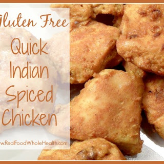 Quick Indian Spiced Chicken.