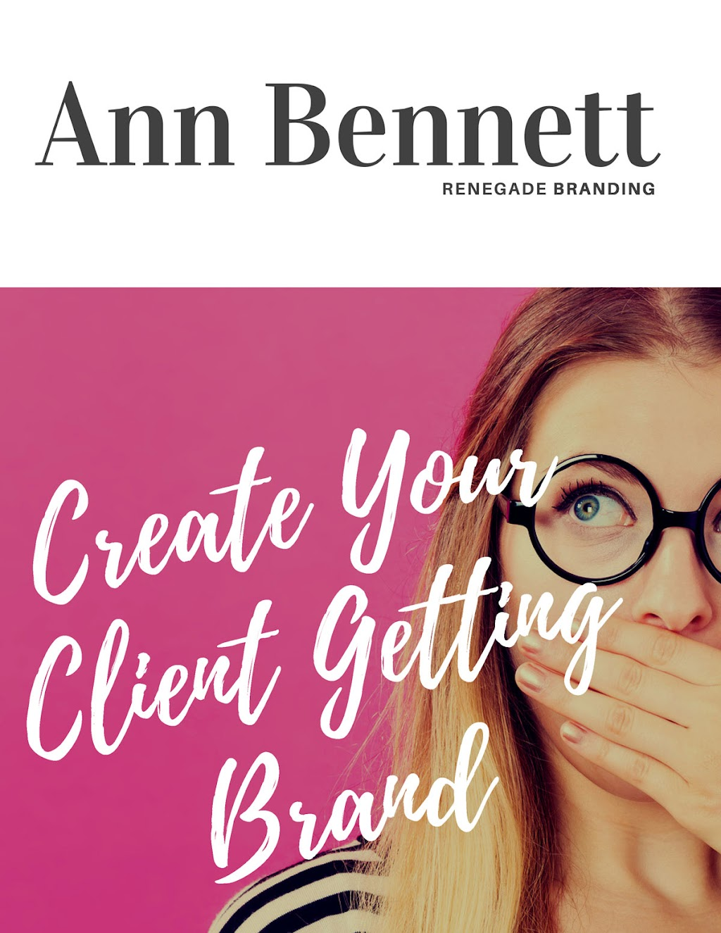 Create Your Client Getting Brand PDF Cover