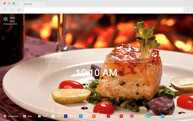 Recipe HD New Tabs Popular Foods Themes