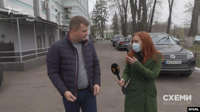 Сам Царенко пояснив журналістом, що Ілля Ємець – його друг