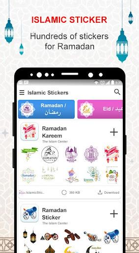 Islamic Stickers - Hajj 2020 Islamic Stickers 1.0 screenshots 1
