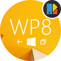 WP8 Yellow | Free Xperia Theme icon