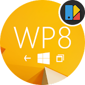 WP8 Yellow | Free Xperia Theme