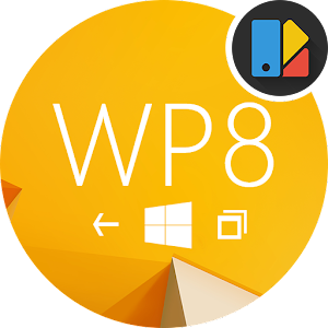 WP8 Yellow | Free Xperia Theme download