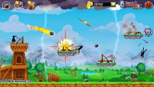 The Catapult 2 2.0.8 Apk  MOD (Unlimited Coins) для Android 5