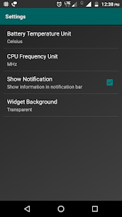 Widgets – CPU | RAM | Battery Apk 6