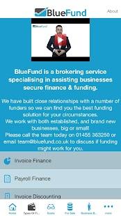 BlueFund - náhled