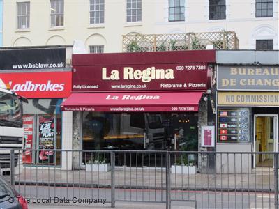 La Regina On Euston Road Restaurant Italian In Regents