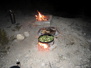 Photo: Starlit Dinner on the trail