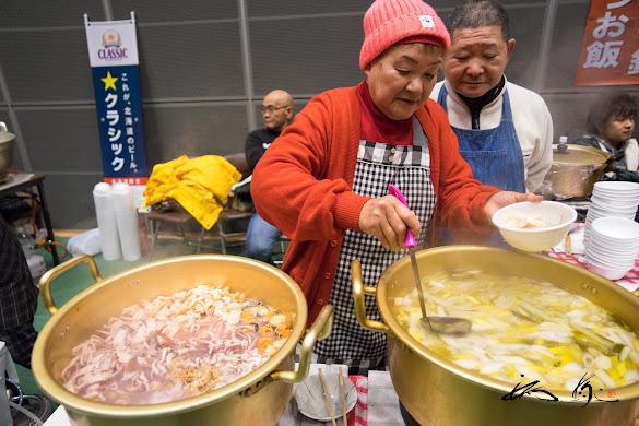 魚と冬野菜の浜鍋