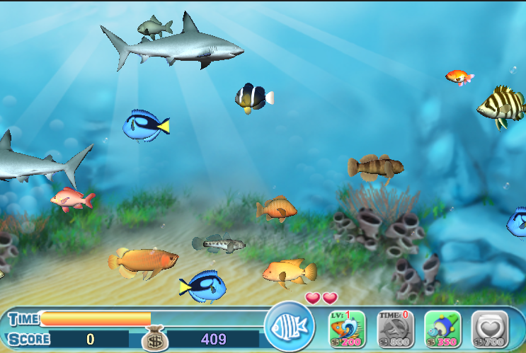 Fish eat fish android apps on google play for Fishing computer game