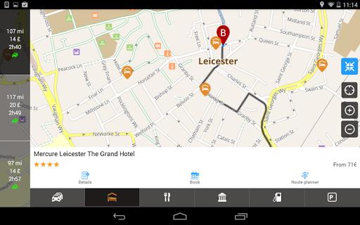 ViaMichelin Route planner,maps screenshot 18