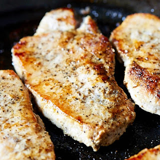 10-Minute Pan-Fried Boneless Pork Chops.