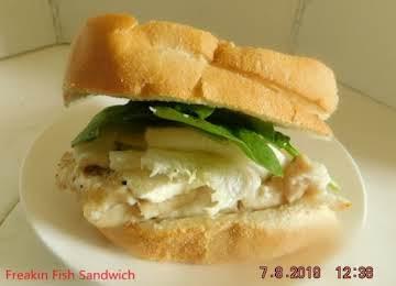 Freakin Fish Sandwich