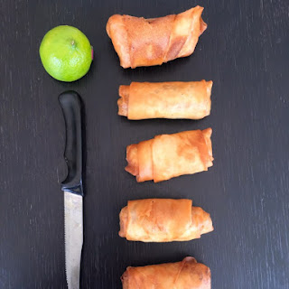 Homemade Chicken Spring Rolls