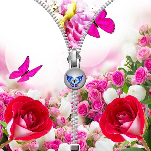 娛樂App|粉红玫瑰拉链锁 LOGO-3C達人阿輝的APP