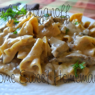 Beef Stroganoff With Ketchup And Sour Cream Recipes