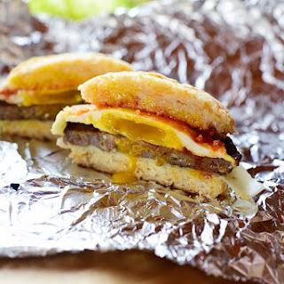 Cayenne Cheddar Biscuit Sandwiches