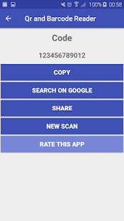 Free QR and Barcode Scanner - náhled