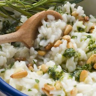 Risotto with Lemon Pesto Recipe