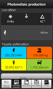 Photovoltaic Estimation & IRR- screenshot thumbnail