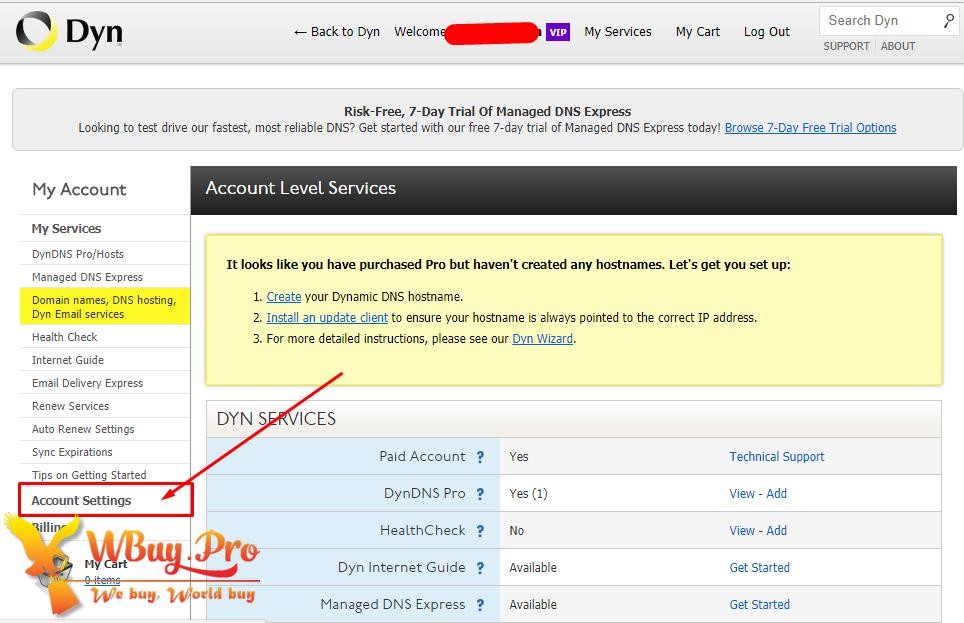 [Hướng dẫn] Cách bảo mật tài khoản DYN.com chống bị HACK Pass
