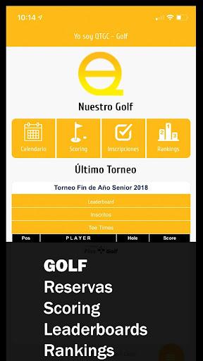 quito tenis y golf club - online golf app screenshot 1